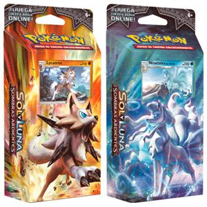Barajas 60 cartas Pokemon Sol y Luna. 4 barajas diferentes. Recogida en tienda