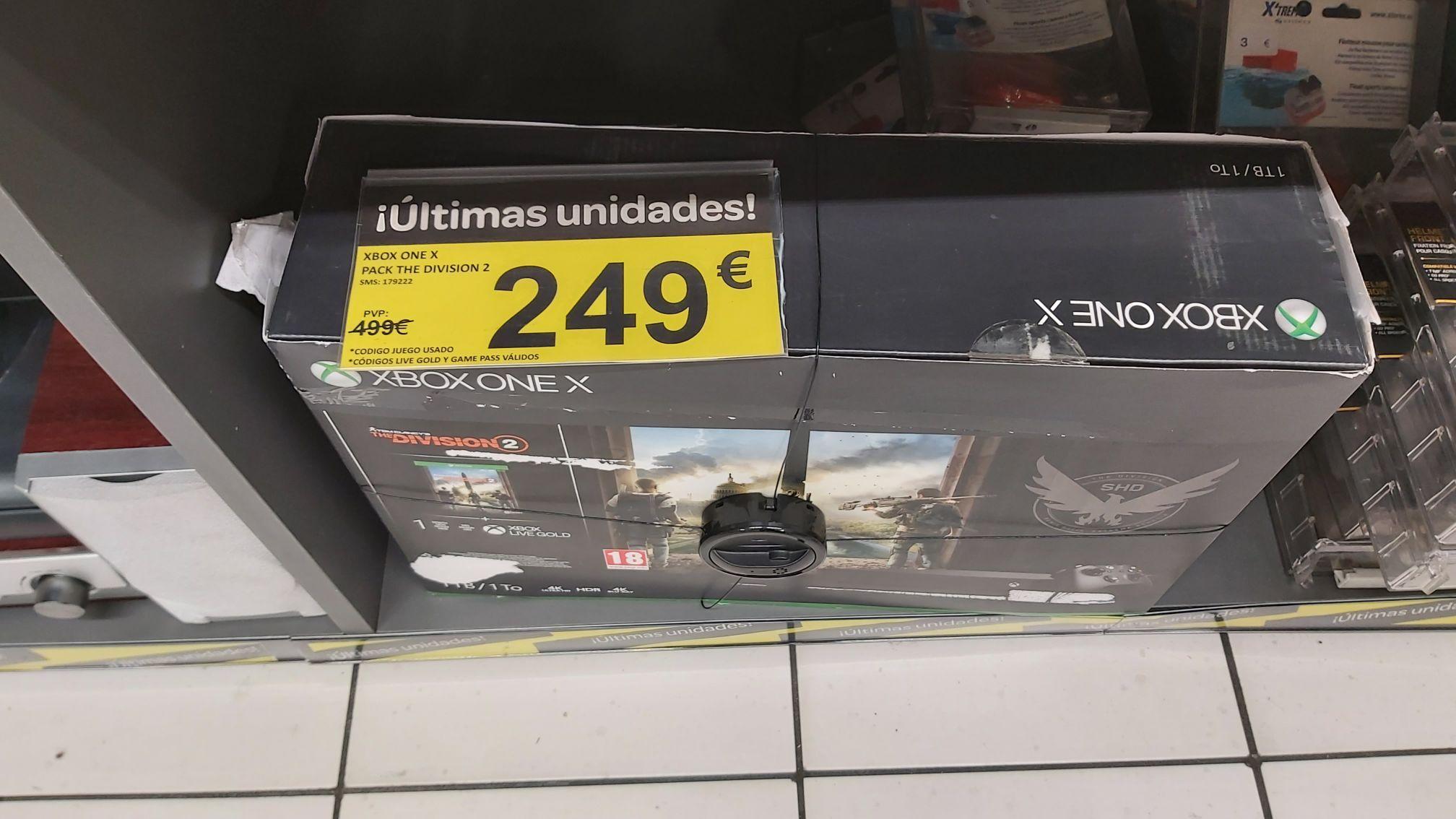Xbox One x en Carrefour Gran via de Hortaleza