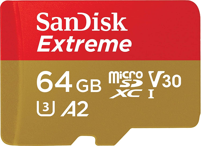 Tarjeta microSD Extreme 64GB