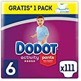 Dodot Activity Pants Pañal-Braguita Talla 5, 120 Pañales, 12-17kg +