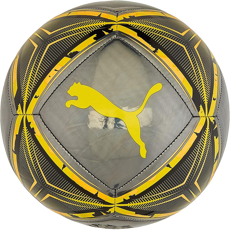 PUMA Spin Ball Balón de Fútbol, Adulto, en 3 tamaños y 4 colores.