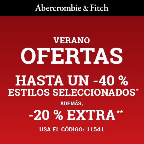 40% + 20% Extra en Abercrombie
