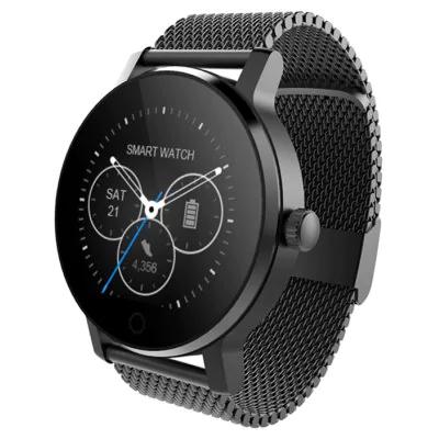 Smartwatch con bluetooth.  Negro o plateado.