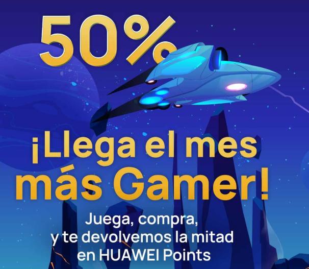 (Solo Huawei y Honor) Gana HUAWEI Points con cada compra que hagas en juegos de AppGallery