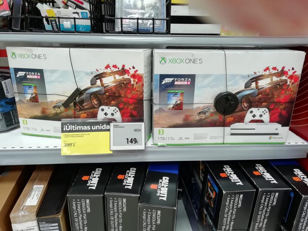Xbox one S 1tb + Forza 4