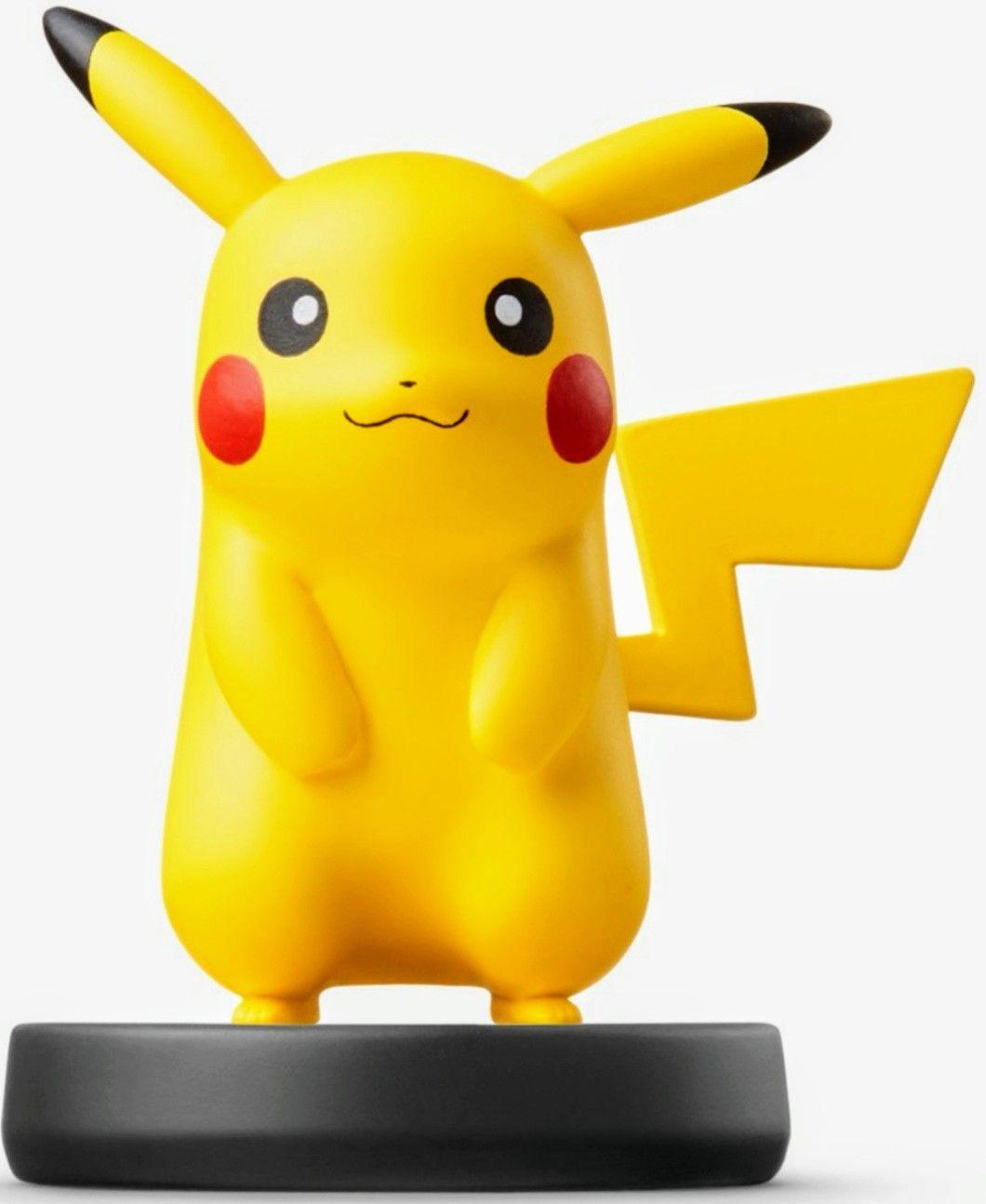 Nintendo - Figura Amiibo Smash Pikachu (Mínimo)