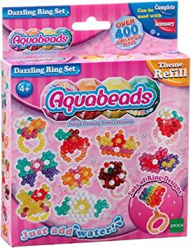 Aquabeads Set Anillos Deslumbrantes