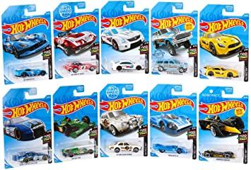 Hot Wheels Pack de 10 Mini coches clásicos - Juguete