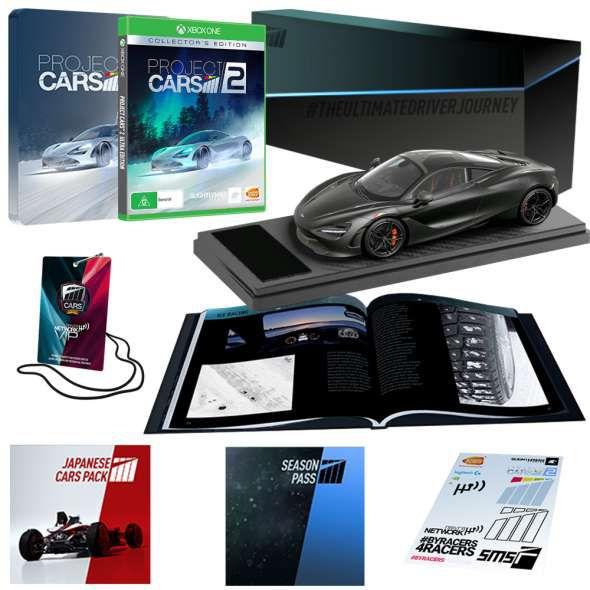 Project Cars 2 Edición Coleccionista Xbox One