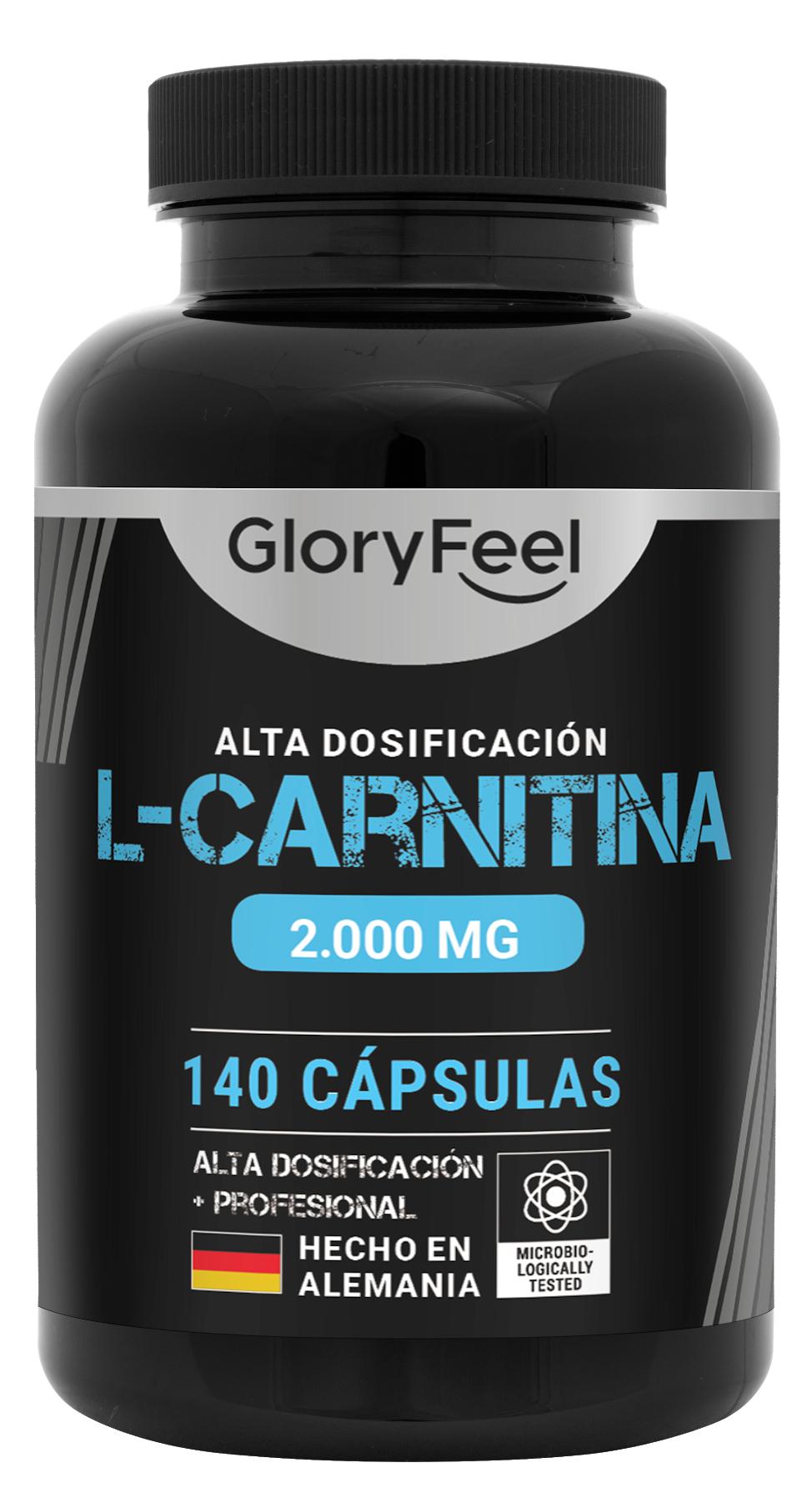 L-Carnitina de GloryFeel con el 50% de descuento