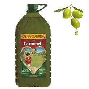 Aceite de Oliva VIRGEN EXTRA 5L (CARBONELL, AlCampo)