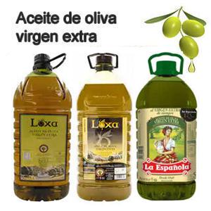 Garrafa Aceite de Oliva Virgen Extra 5L ( LA ESPAÑOLA, LOXA , AlCampo)
