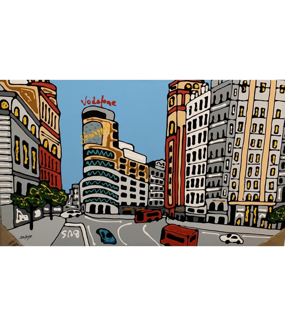 Oferta en cuadros de Madrid - Pinturas Made in Spain