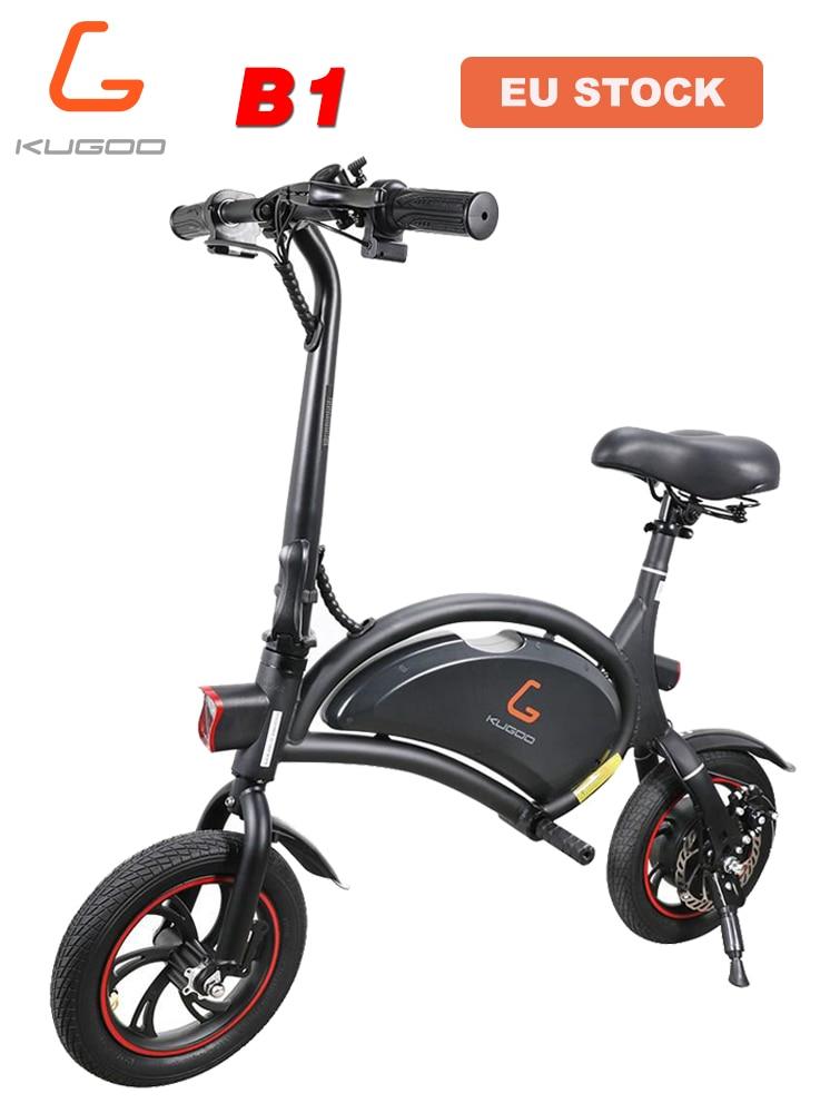 Bicicleta Eléctrica Portable KUGOO Kirin B1 [Envío desde Europa]