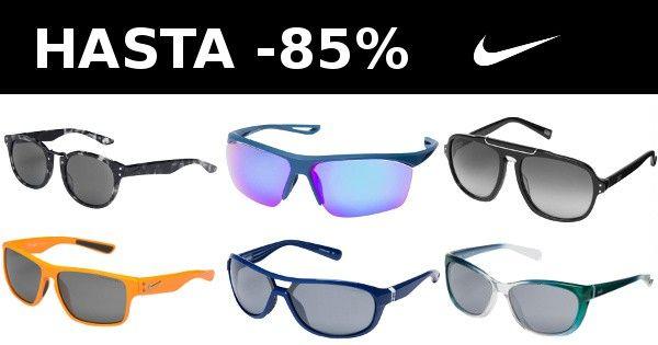 Gafas de sol Nike con hasta 85% de descuento