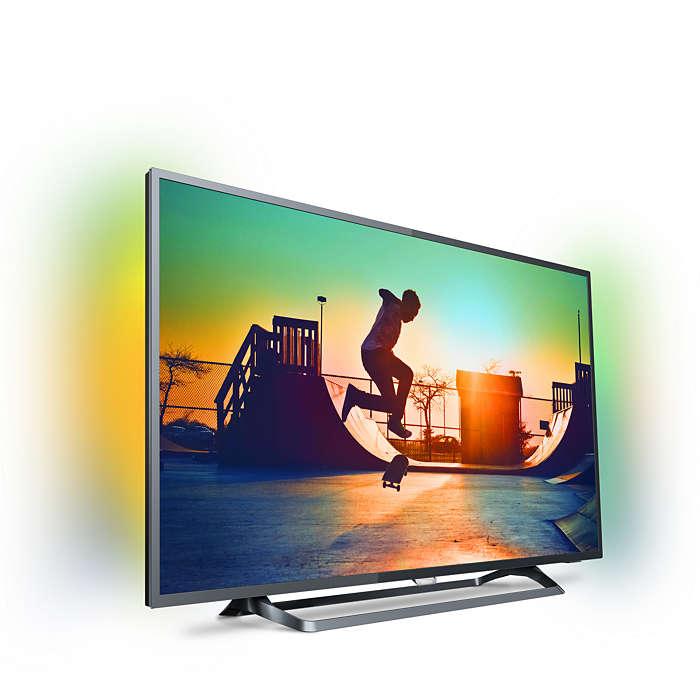 """TV 50"""" Philips  4K con Ambilight solo 449€"""