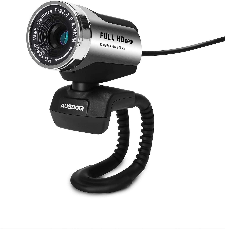 Webcam 1080P con micrófono AUSDOM