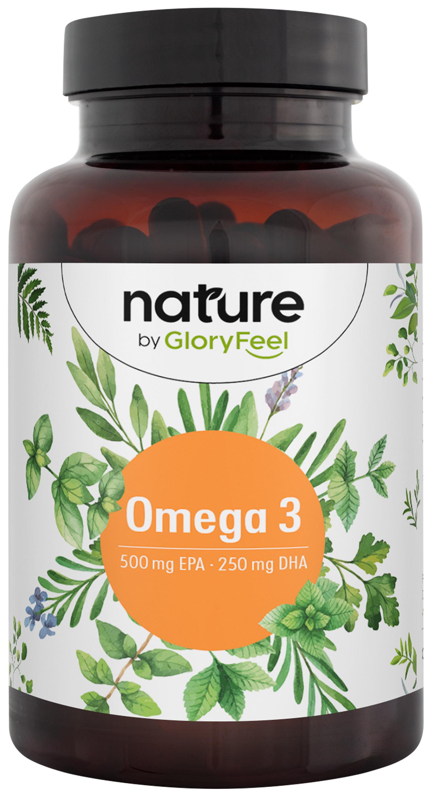 Omega 3 - 120 gelatina blanda con 1000mg de Aceite de Pescado