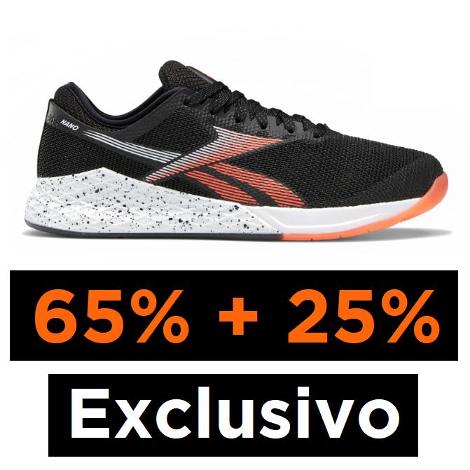 Exclusivo: Rebajas Reebok 65% + 25% EXTRA
