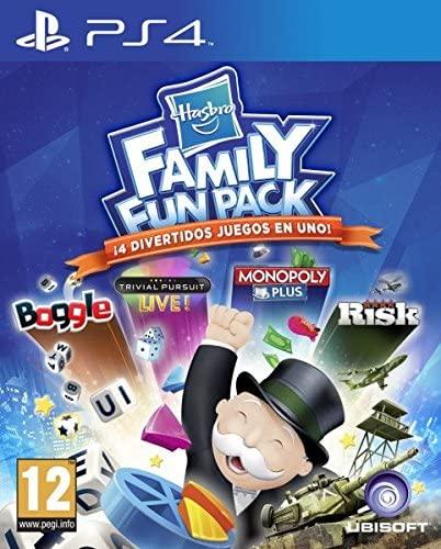 Hasbro Family Fun Pack PS4 (4 juegos Monopoly, Risk,Trivial, Boggle) también en mediamarkt