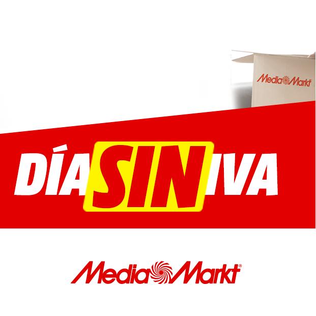 Día Sin IVA en Mediamarkt