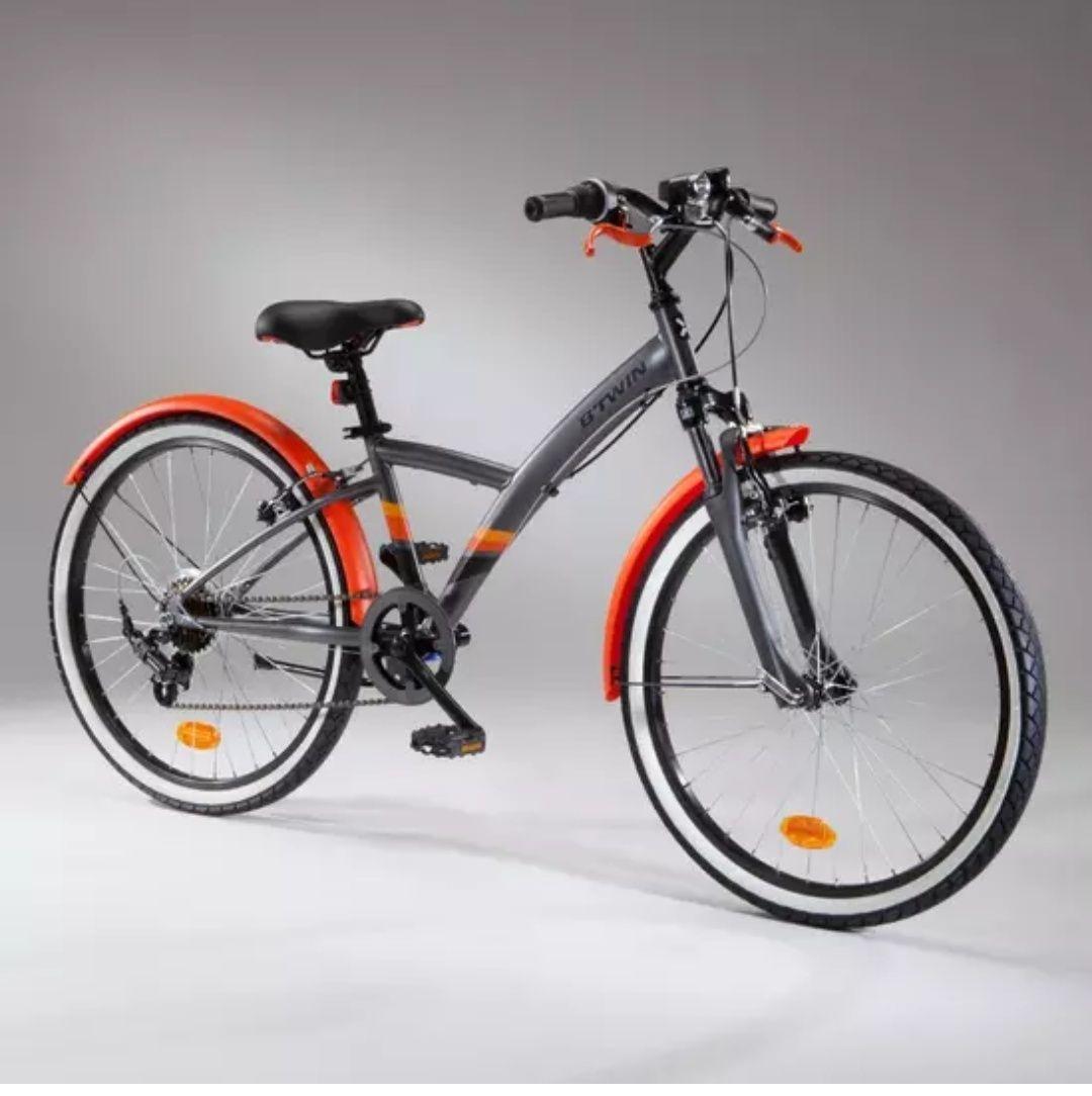 (solo en tienda) Bicicleta Btwin 500S 24 pulgadas para niños 9-12 a