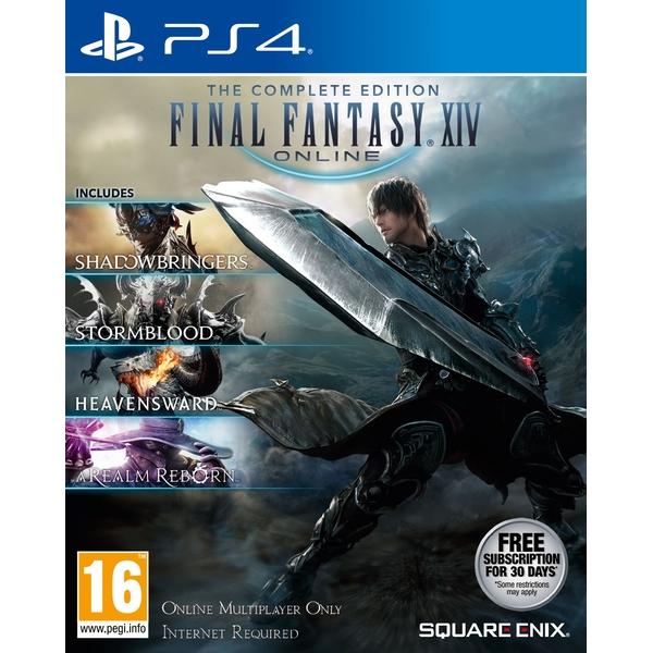 Final Fantasy XIV: The Complete Edition (PS4) por 31,47 € con envío incluido