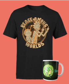 Pack Rick & Morty (Camiseta + Taza) por sólo 9,99€ - Merchandising oficial