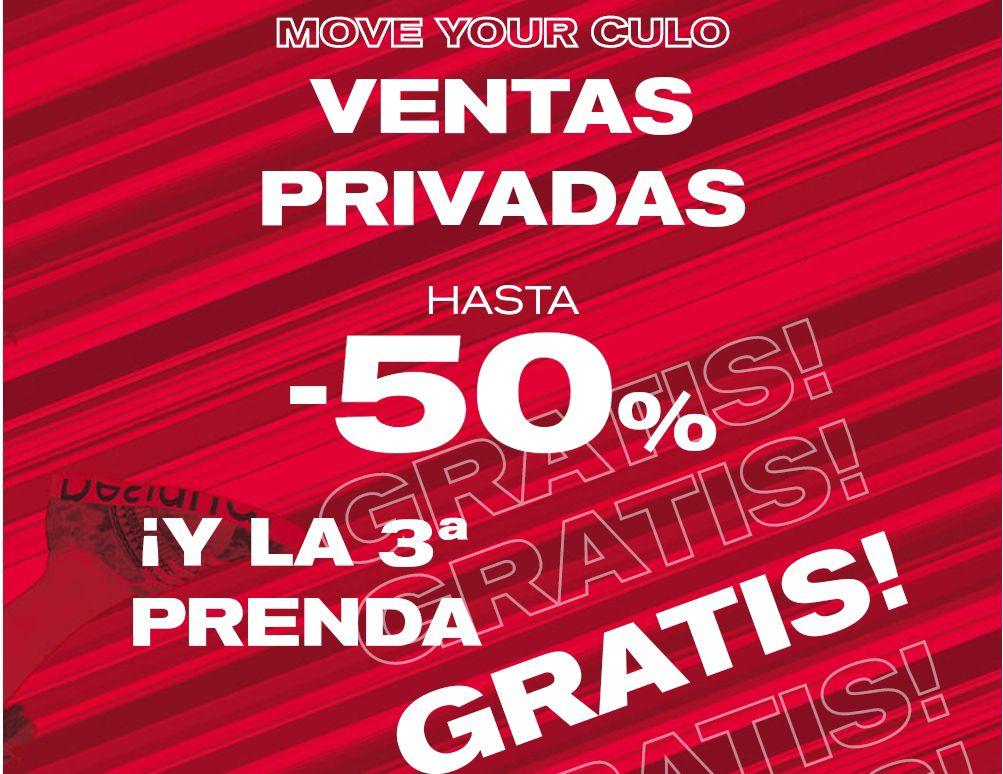 Ventas privadas en Desigual -50% + 3x2