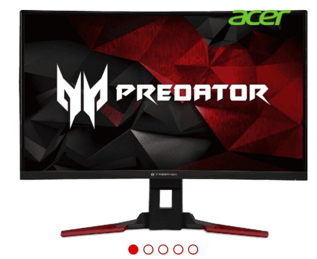 "Acer Predator Z321Q, 31.5"" Full HD, Curvo, Nvidia G-Sync 144Hz, Negro y rojo *Mínimo histórico*"