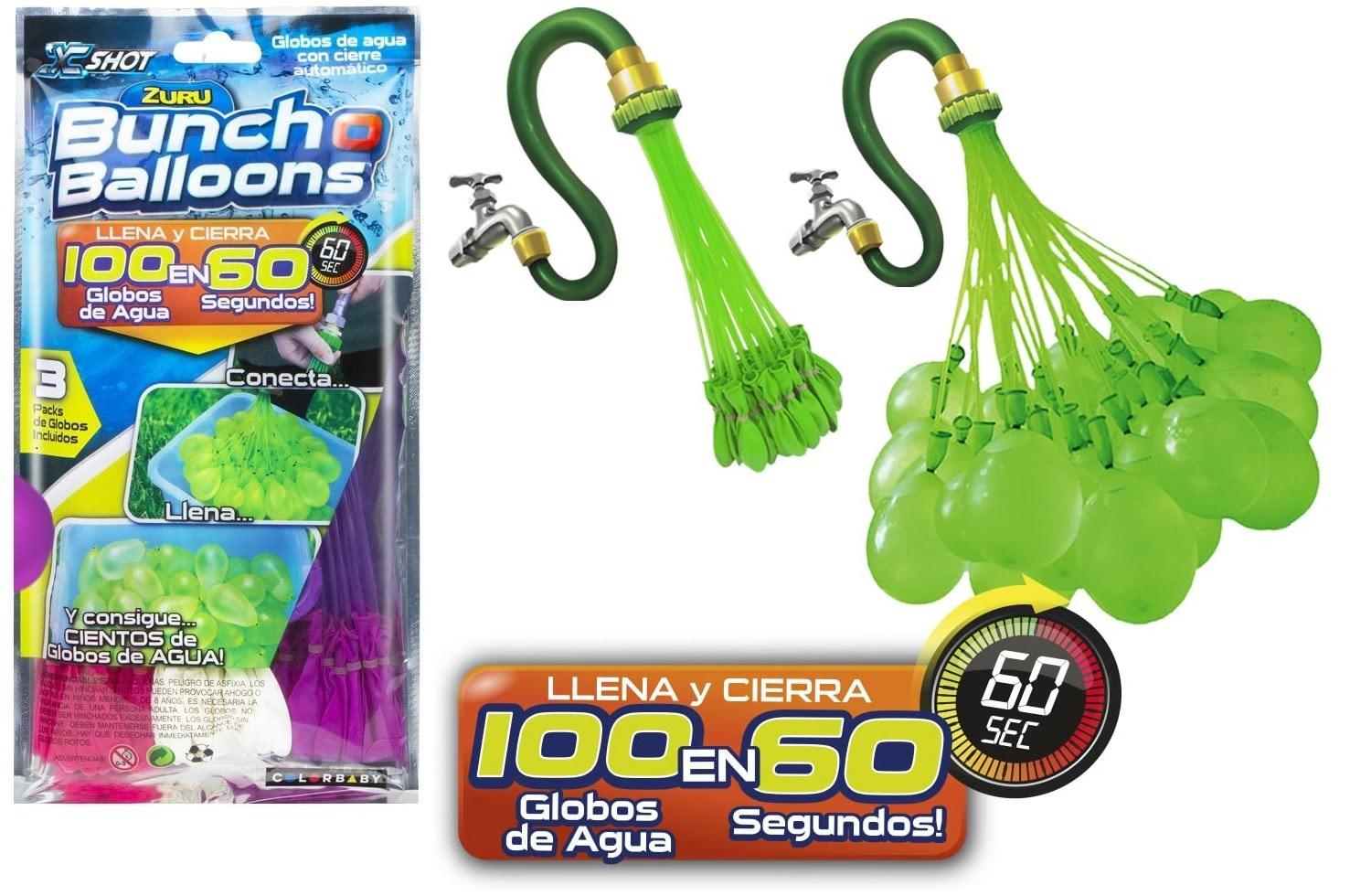 Bunch O Balloons - Set de 100 globos de agua.