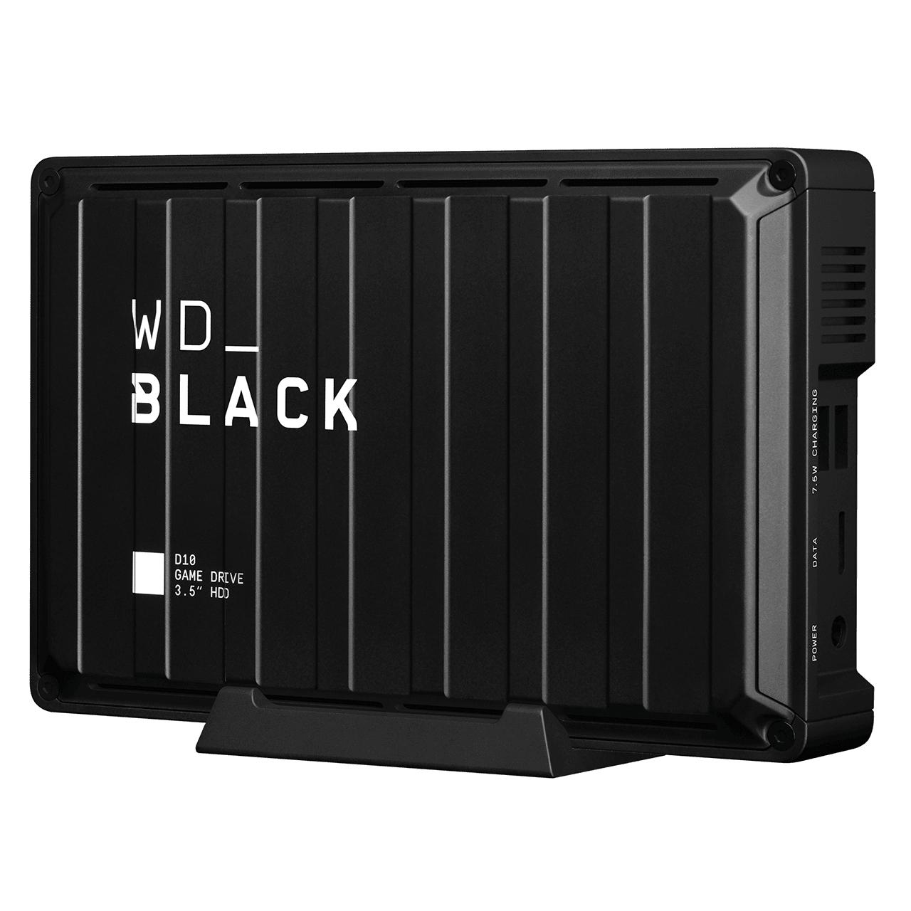 WD Black D10 - Game Drive de 8 TB y 7200 r.p.m. con refrigeración activa
