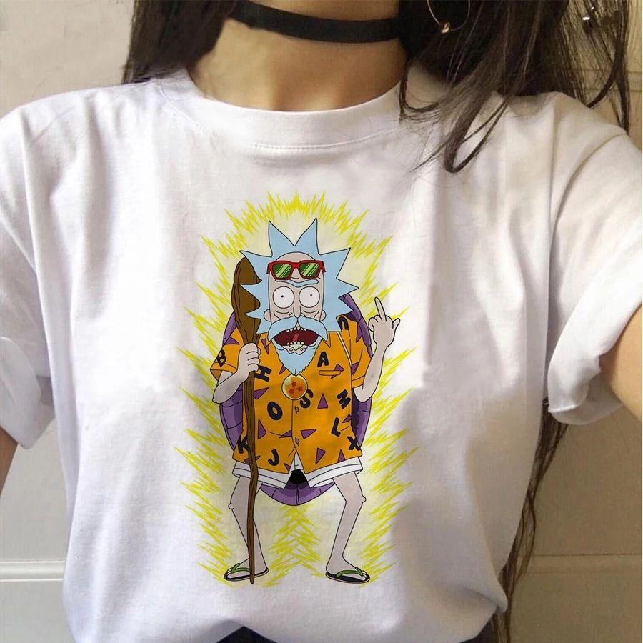 Camiseta distintos modelos de Rick y morty para mujer