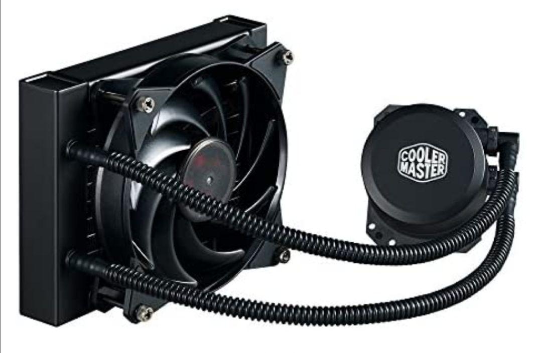 Cooler Master - MasterLiquid Lite 120 - Enfriador líquido para CPU Todo en uno con Bomba de cámara Doble