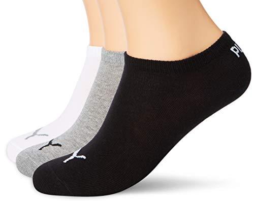 Pack 3 pares calcetines Puma (Tallas 35-38, 39-42 y 43-46)