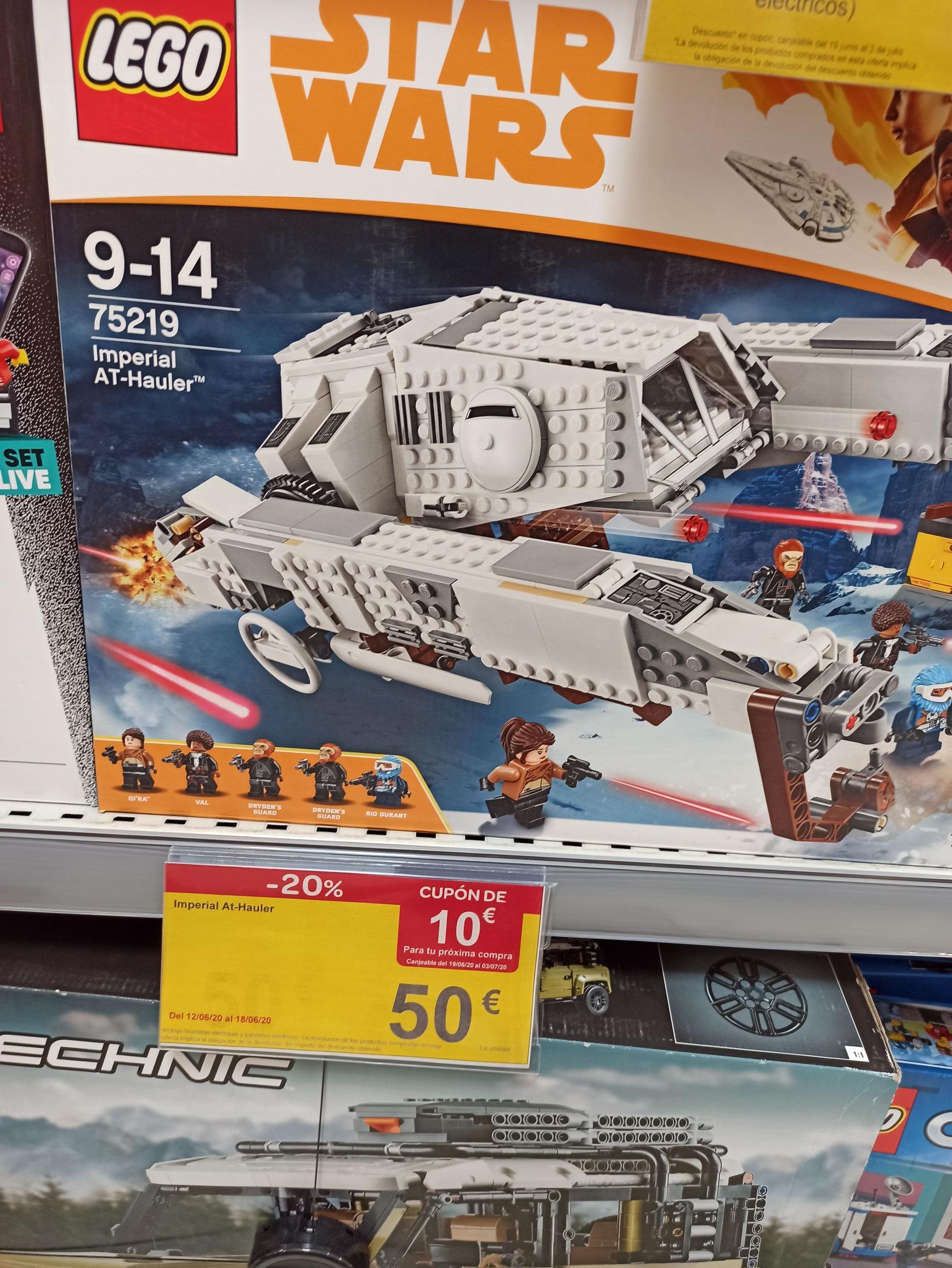 LEGO Star Wars - Imperial AT-Hauler en Carrefour de Villareal