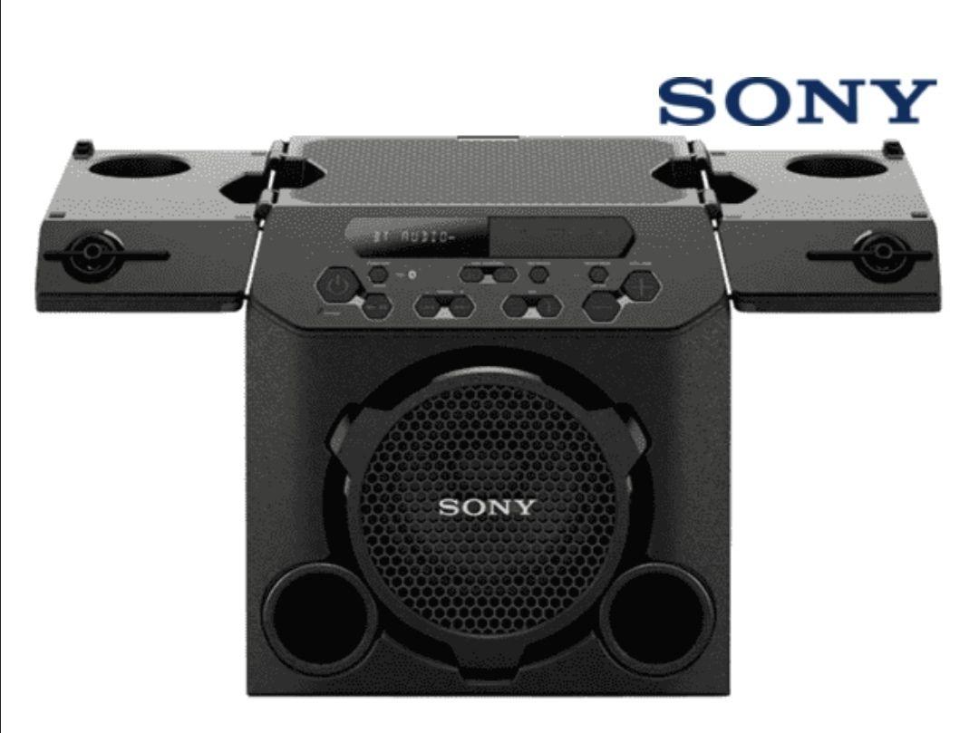 Altavoz inalámbrico - Sony GTK-PG10, Bluetooth y FM, 13h autonomía