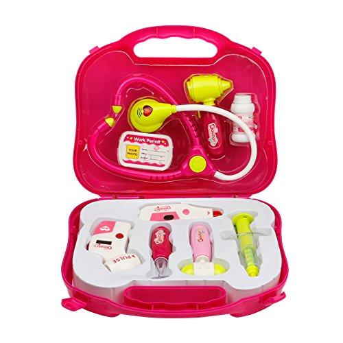 Conjunto médico de juego médico con luz y sonido para niños