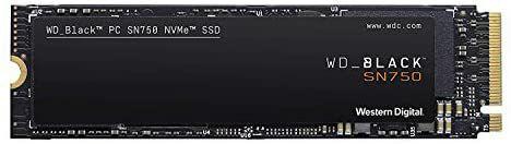 SSD NVMe 250 GB WD Black