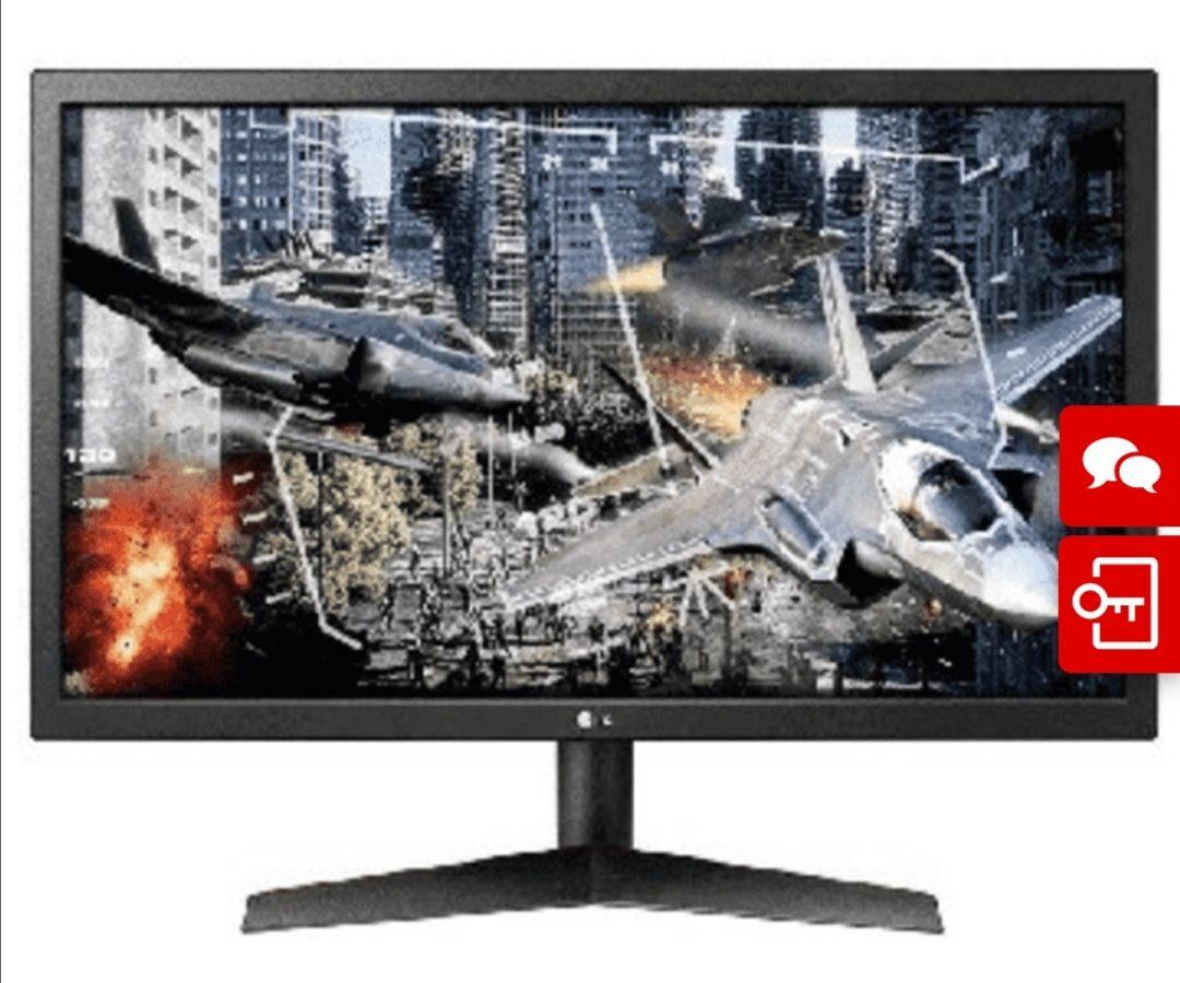 "Monitor gaming - LG 24GL600F-B, 23.6"" Full HD, 16:9, 1 ms, 144 Hz, FreeSync"