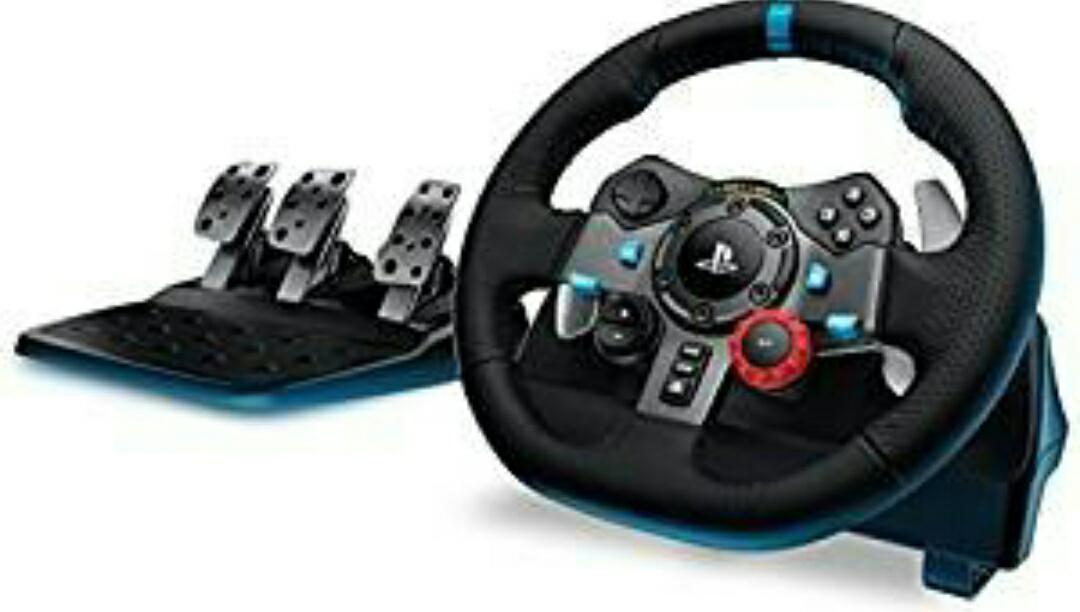 Logitech G29 - Volante con pedales incluidos compatible con PS4, PS3 y PC
