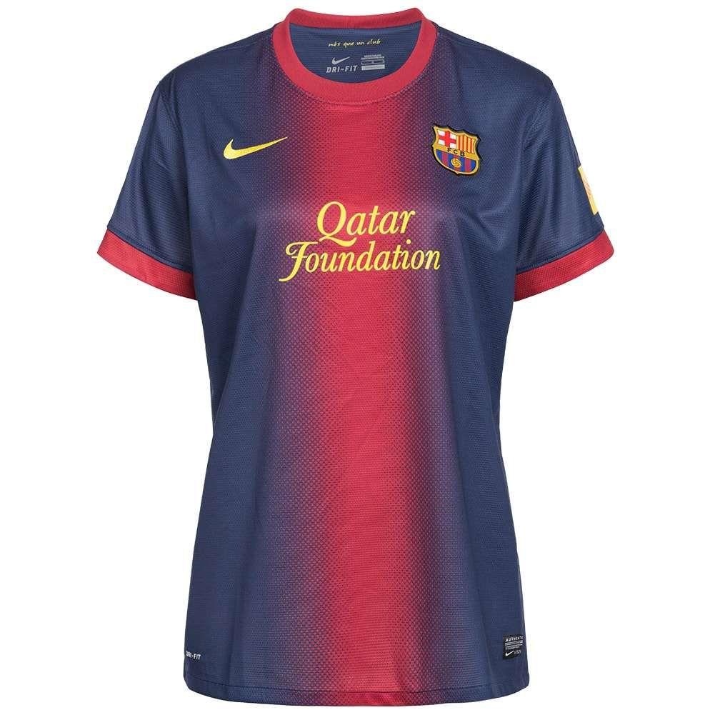 Camiseta local y visitante fc barcelona mujer