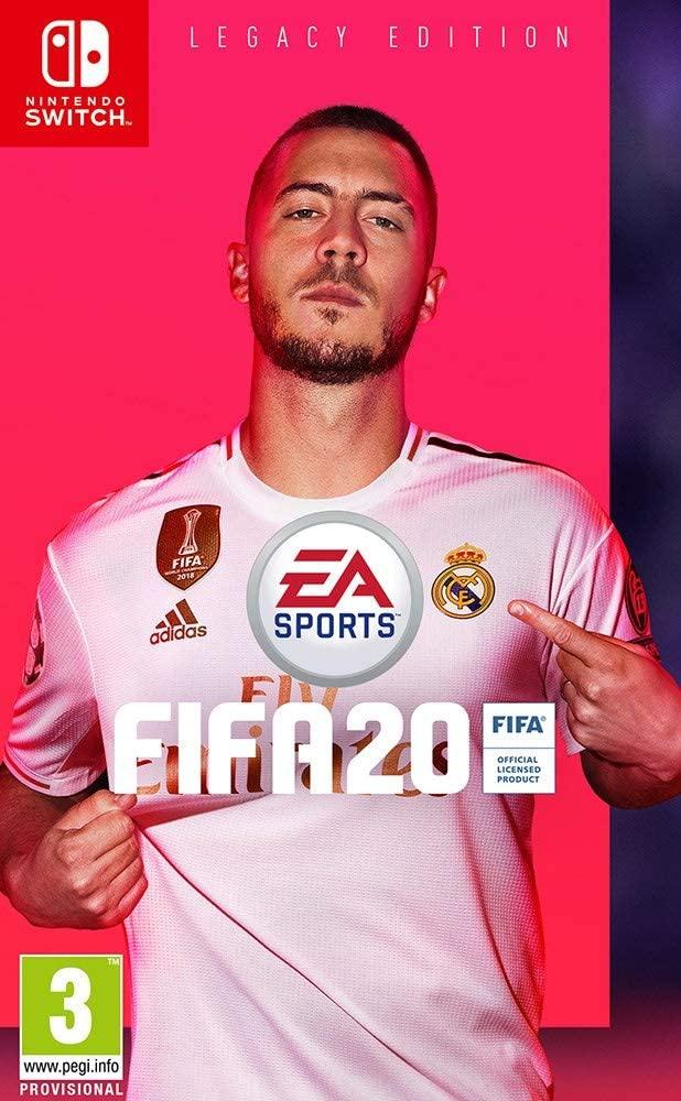 FIFA 20 - Edición Legacy Nintendo Switch - Juego Físico