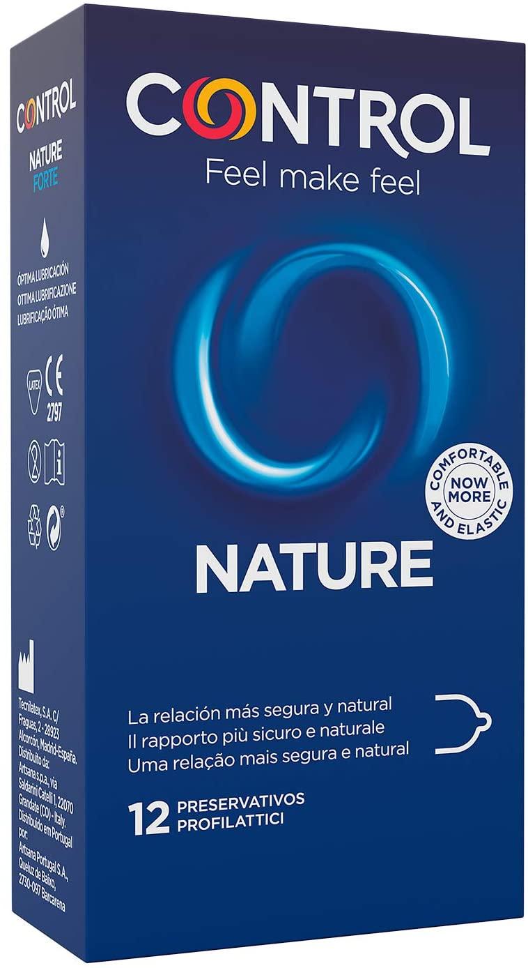 Control Preservativos Nature 12 Uds 4,45€ (4,23€ recurrente)