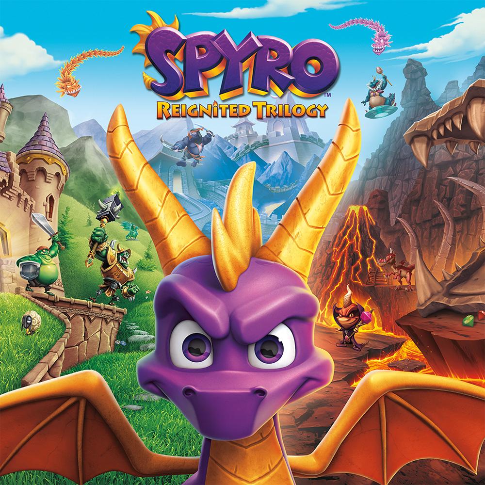 Spyro Reignited Triology Nintendo Switch Digital a mitad de precio.