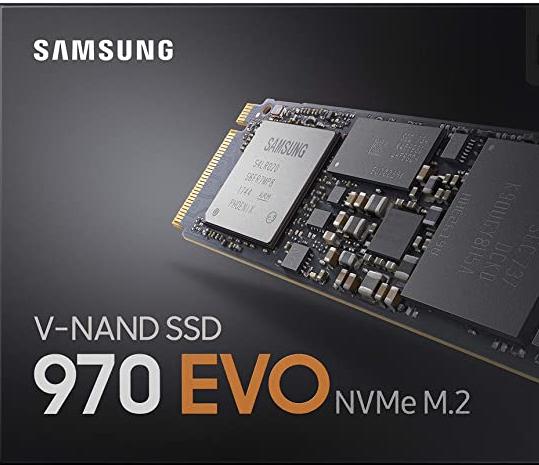 Samsung 970 EVO M.2 NMVe 500GB - Hasta 3,400 MB/s