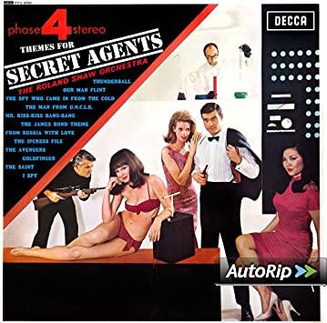 Themes for Secret Agents ( Vinilo ) -