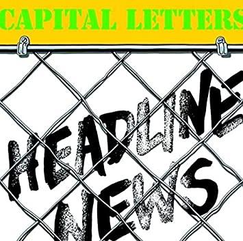 Headline News Capital Letters ( Vinilo)