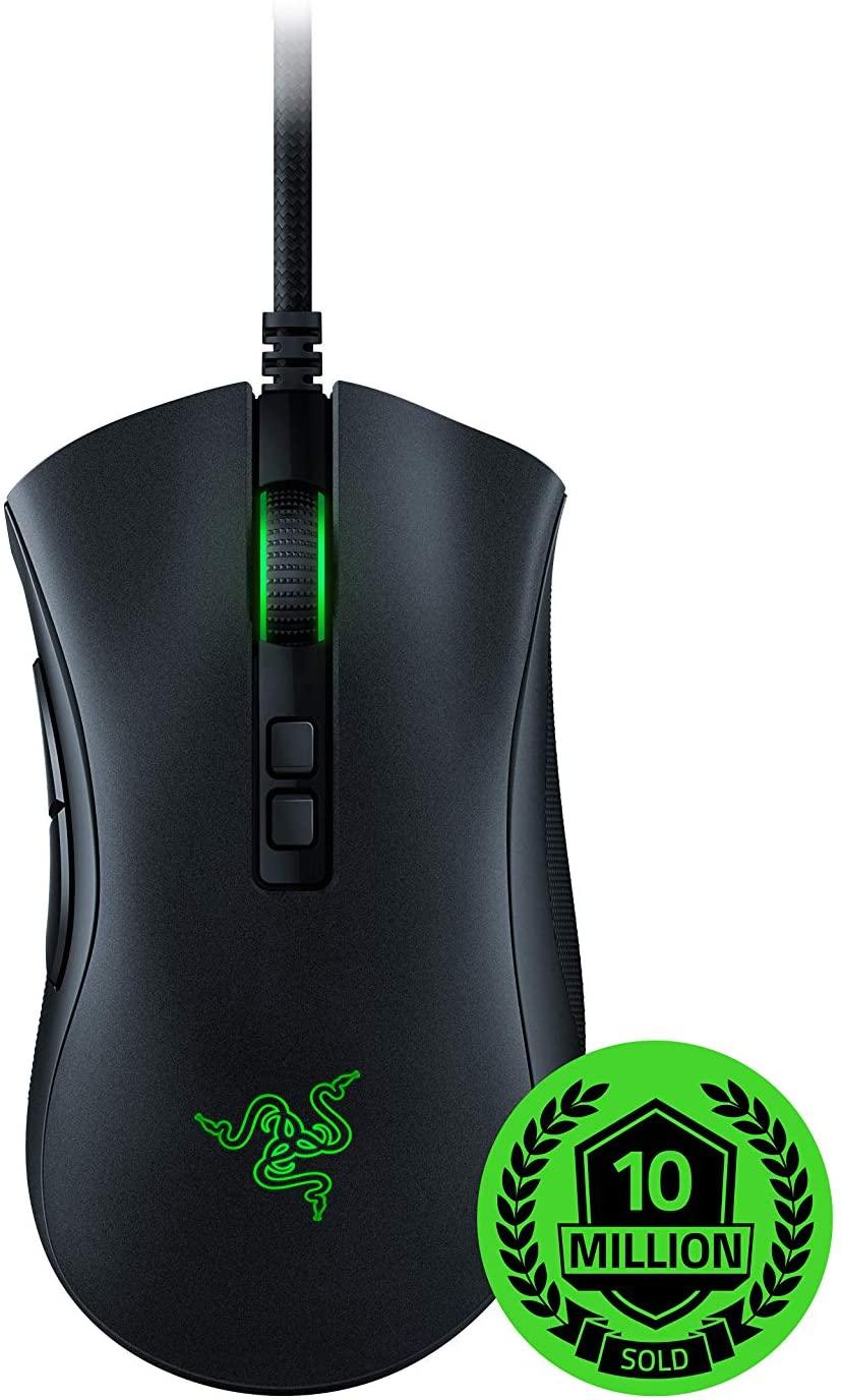 Razer DeathAdder V2 - Ratón Gaming con Sensor óptico Razer Focus + 20K, Cable Speedfley Switches ópticos *Mínimo*