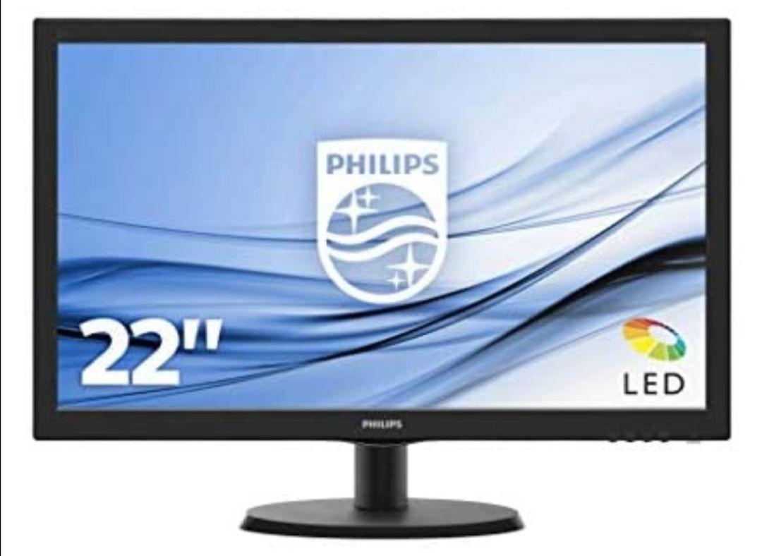 "Philips Monitor 223V5LHSB2/00 - Pantalla para PC de 21.5"" FHD (resolución 1920 x 1080 Pixels )"